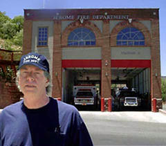 Jerome Fire Department Member