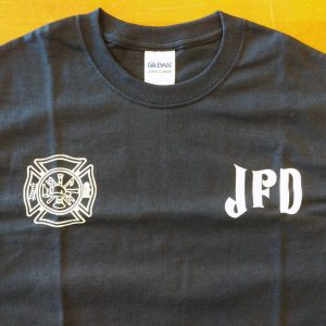 Jerome Fire Department Souvenir T-Shirt