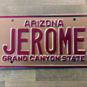 jerome license plate