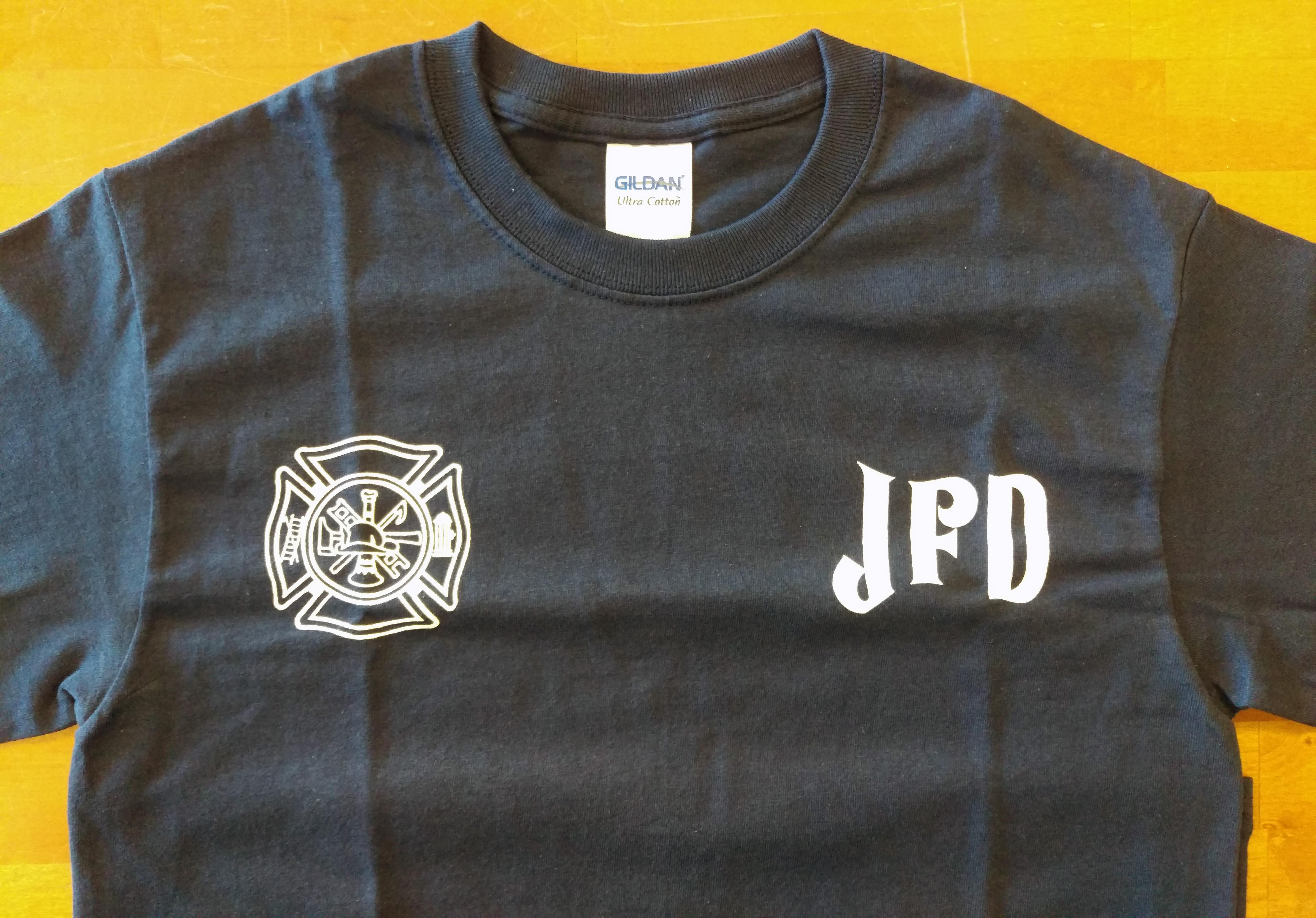 Jerome Fire Department Souvenir T-Shirt