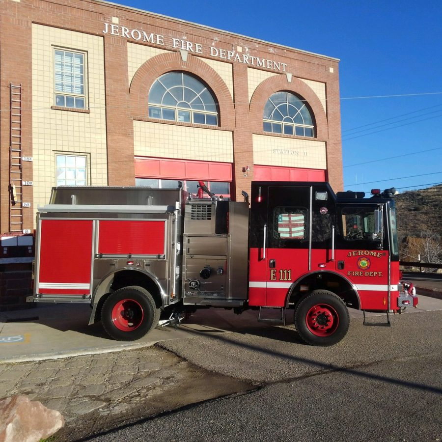 new jerome fire department type 1 engine a 4 wheel drive